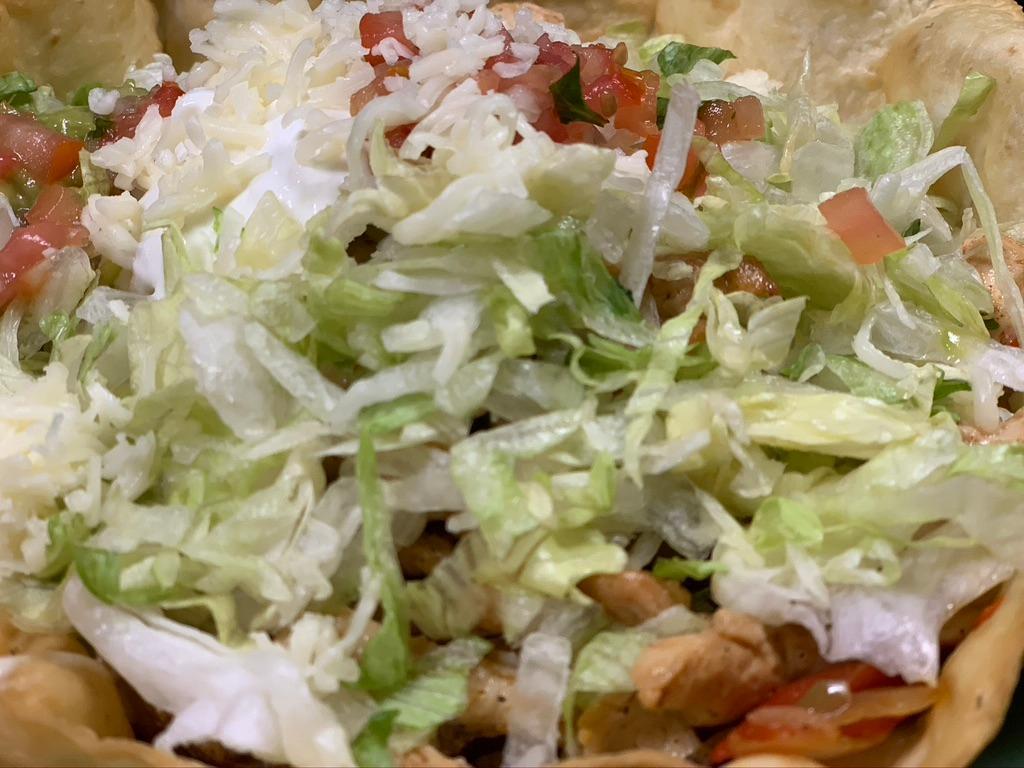 Taco Salad Fajitas