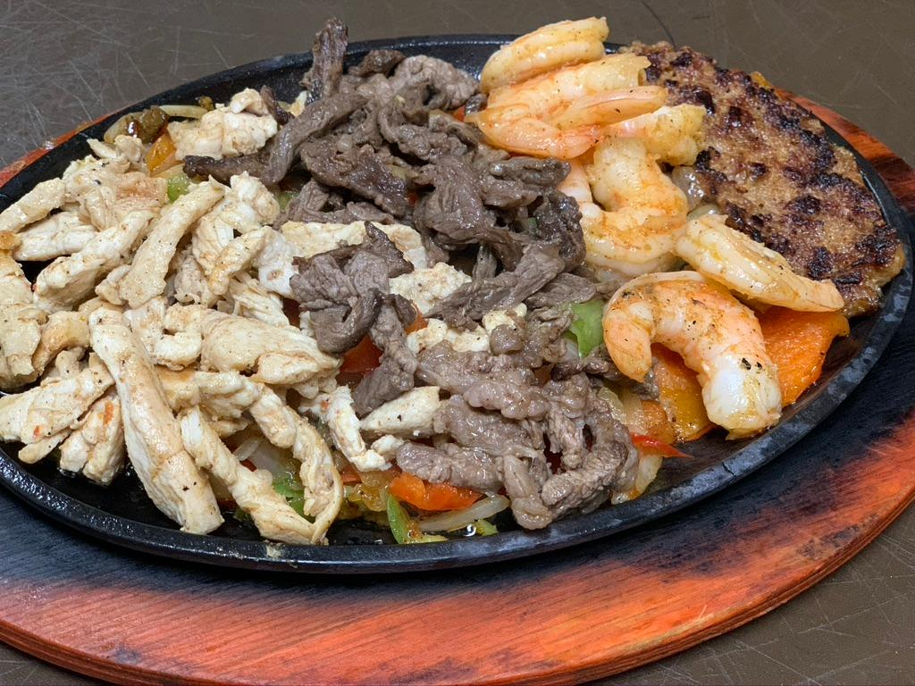 Jalisco (Chicken, Steak, Shrimp & Chorizo) Double