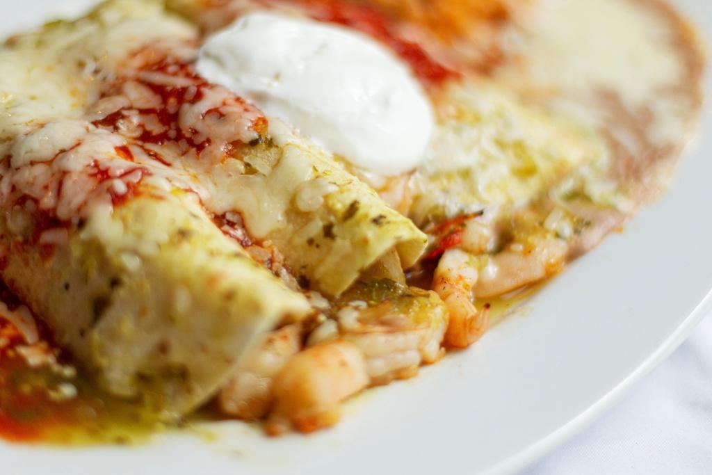 Image for Shrimp Enchiladas.