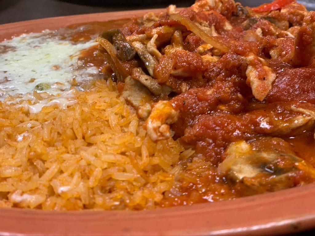 Image for Pollo A La Mexicana.