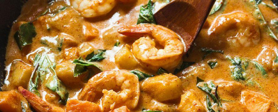 Shrimp Manga Curry