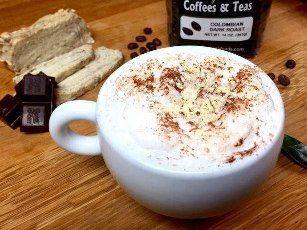 Choco-Halva Latte