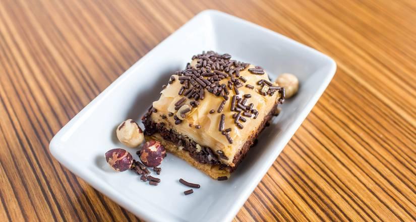 Image for Chocolate Hazelnut Baklava.