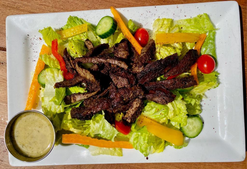 Arpi's Salad w/ Shawarma Plate
