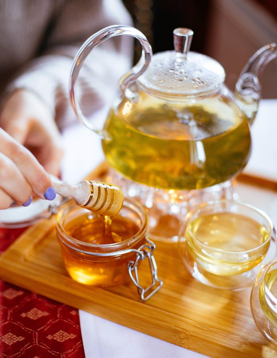 -Shaken Honey Green Tea