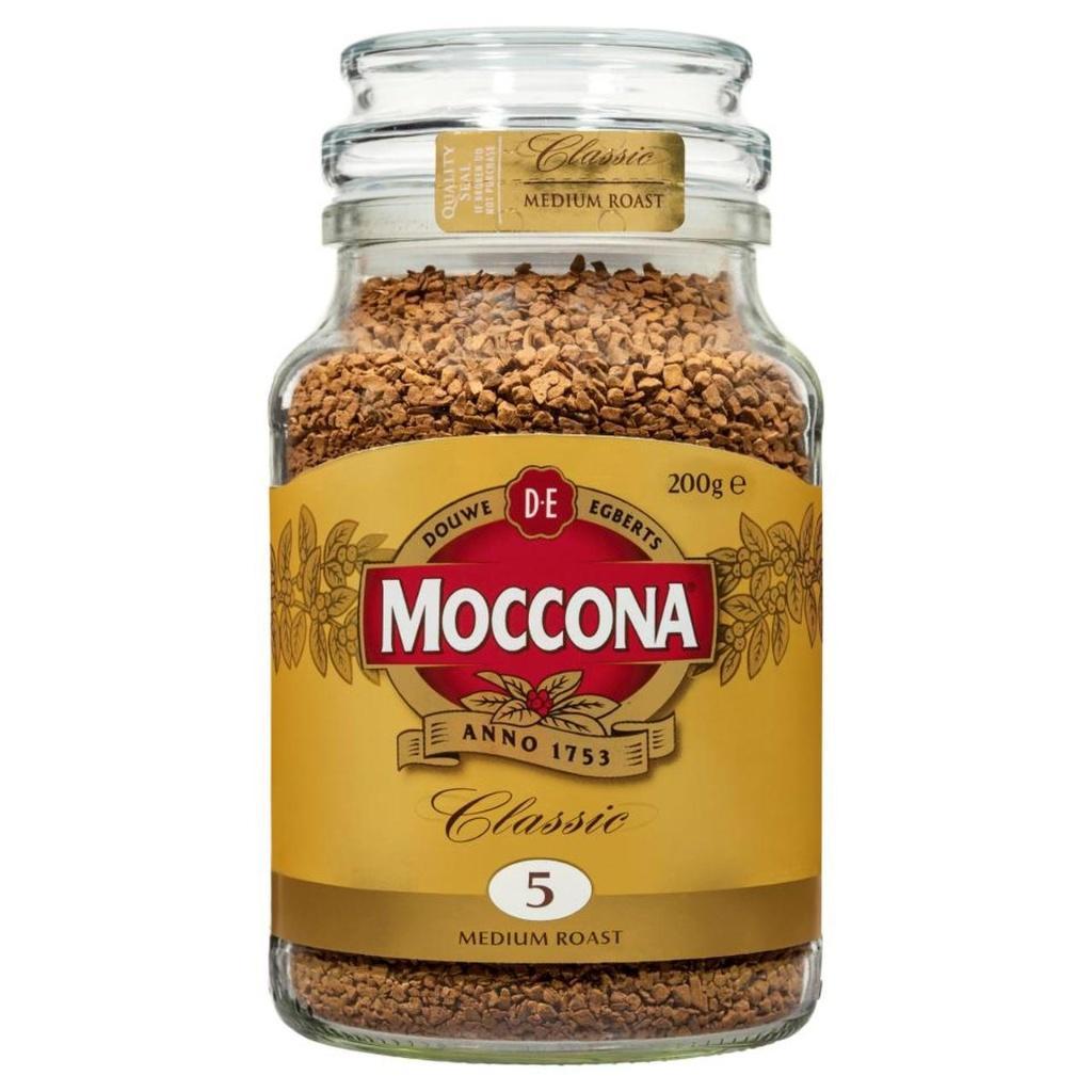 Moccona Classic Medium Roast Coffee 200g