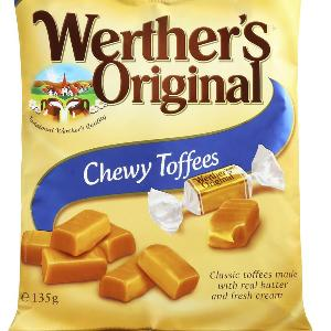 Werther's Original Chewy Toffees 135g Pack