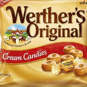 Werther's Original Cream Candies 140g Pack