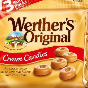 Werther's Original Cream Candies 3 Roll Pack