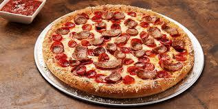 chiken sausage pizza