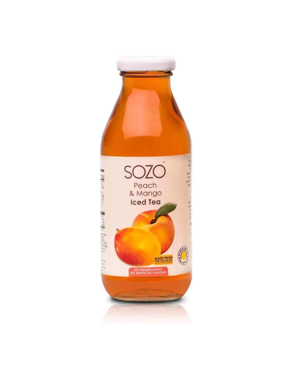 SOZO Peach Iced Tea 350ml