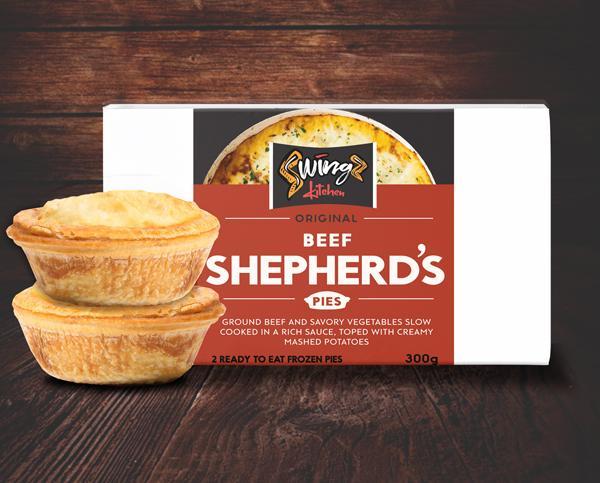 Swingz Kitchen Gourmet Shepherds Pies 300g (Pack of 2)
