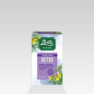 Zesta Wellness Infusion Detox 20 Tea Bags