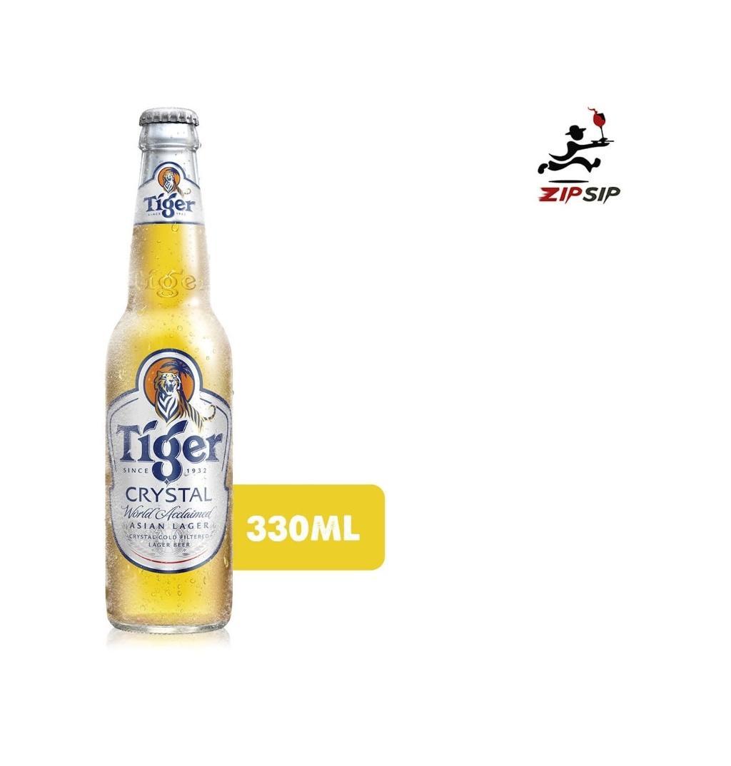 Tiger Crystal 330ml Bottle