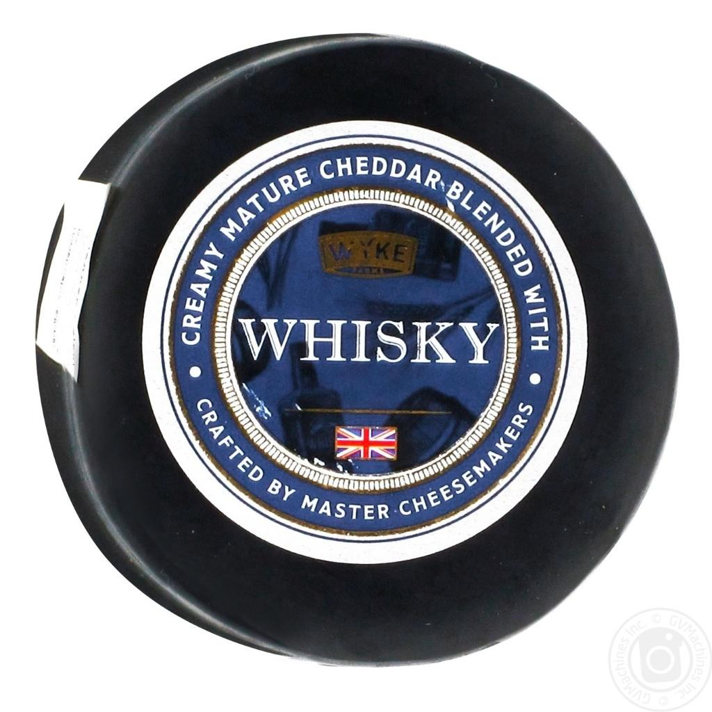 Cheddar with Whiskey 100g