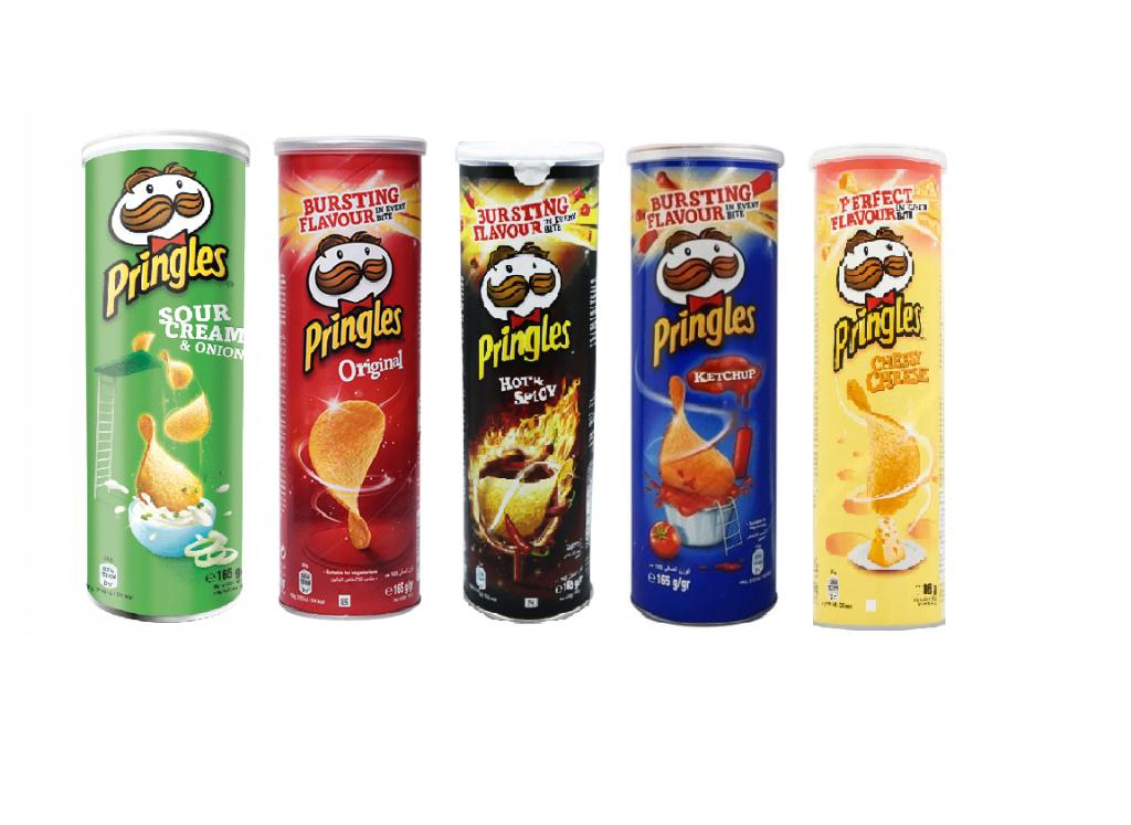 Pringles Party Pack (165g*5Nos) Save 15%