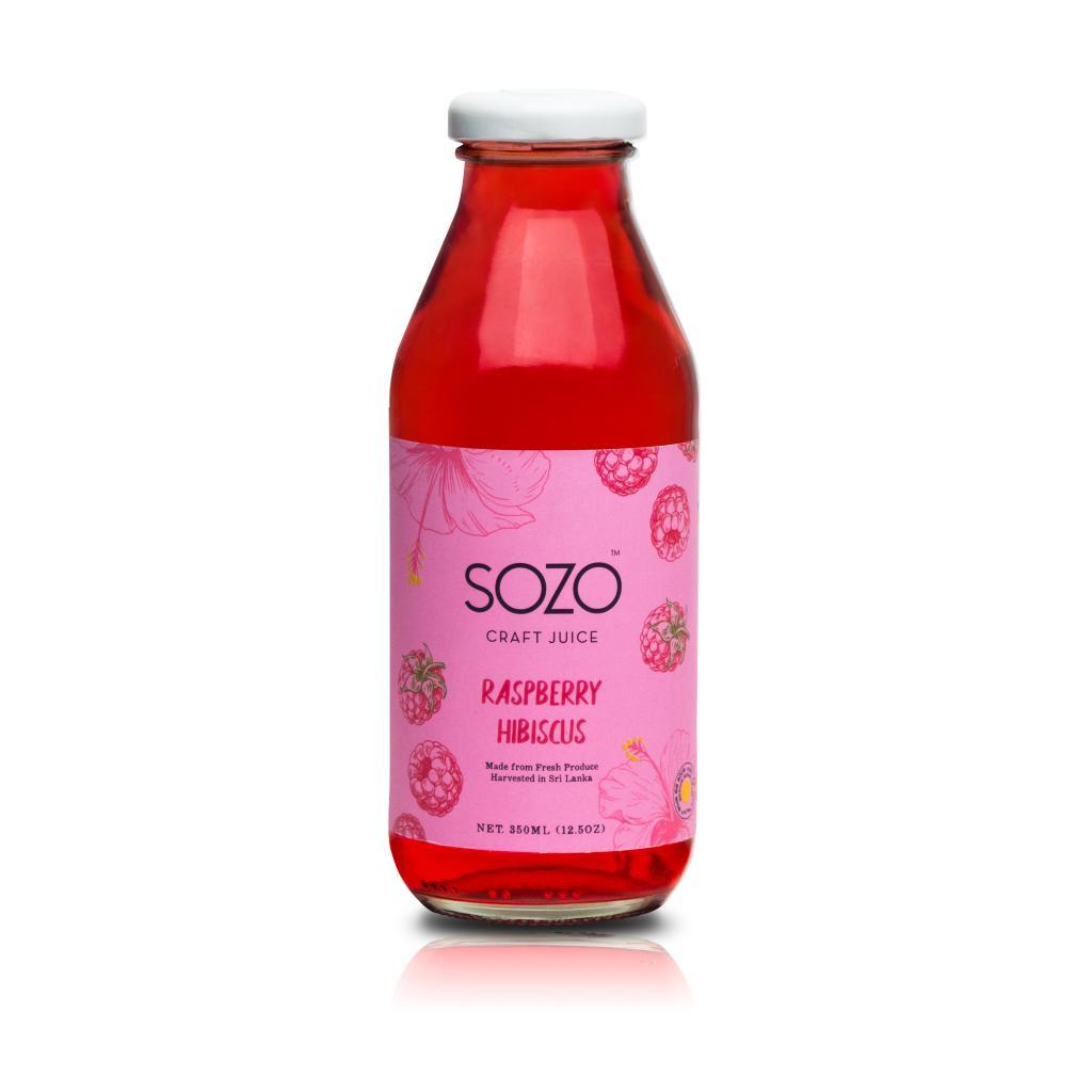 SOZO Raspberry Hibiscus 370ml