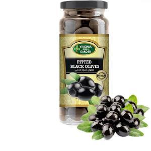 Pitted Black Olives 340g