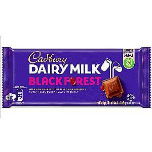 Cadbury Dairy Milk Black Forest Chocolate 160g