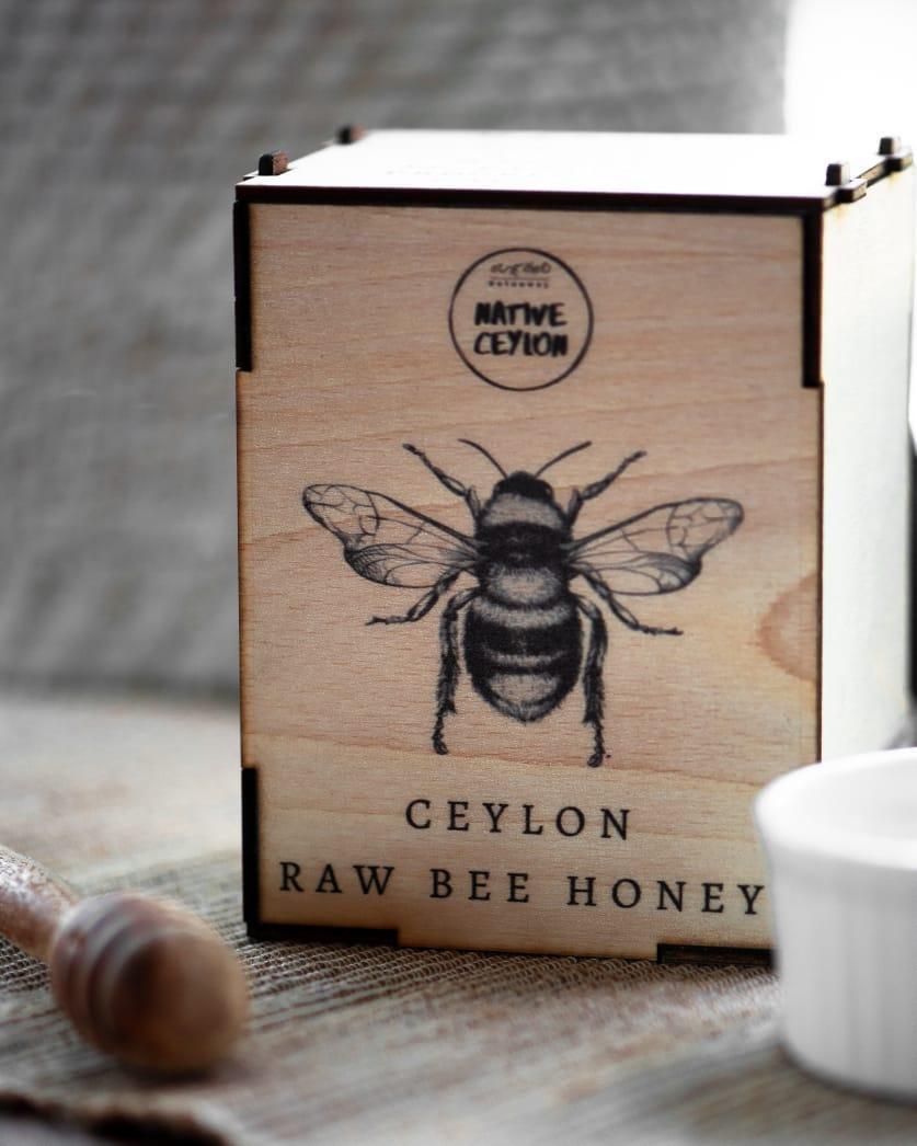 Native Ceylon Raw Bee honey 385g