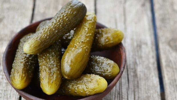 Pickled gherkins 300g