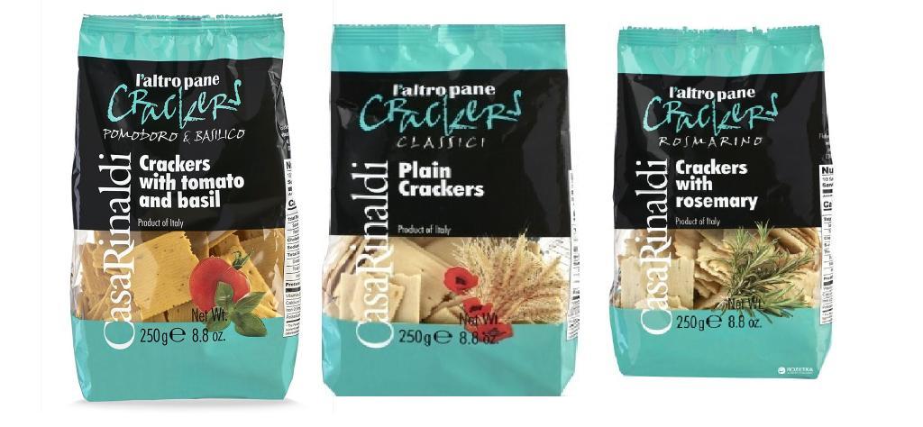 Casa Rinaldi Crackers 250g