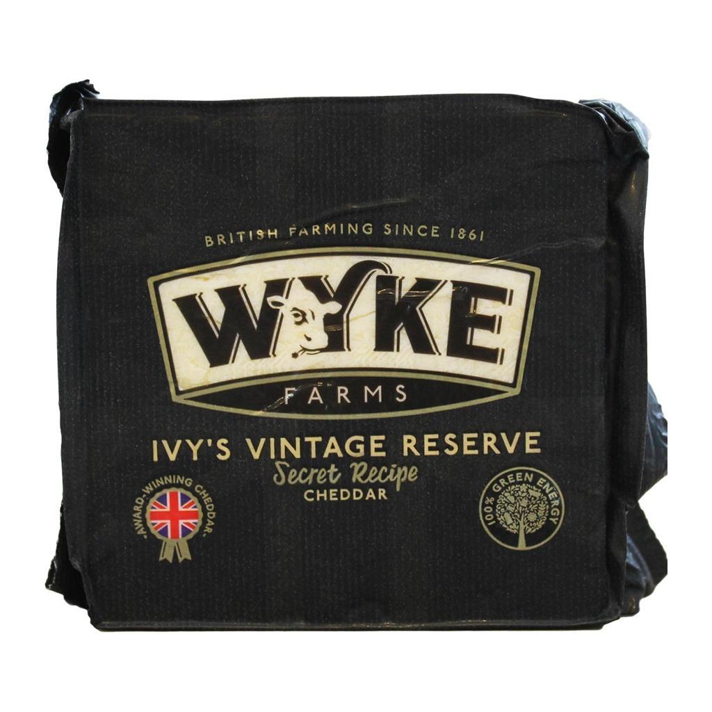 WYKE Farm Ivy's Vintage Reserve Mature Cheddar 200g
