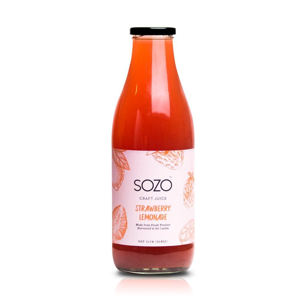 Sozo Strawberry Lemonade 1 Litre