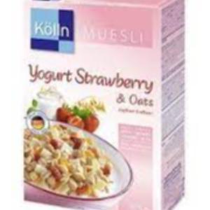 Kölln Oat Muesli Yogurt Strawberry 375g