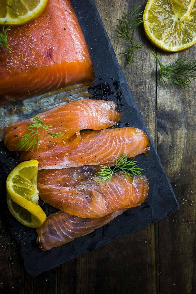 Cured Salmon Slices 200g