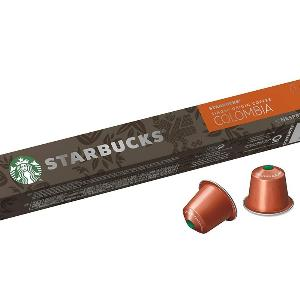 Starbucks Nespresso Coffee Capsules Colombia x 10