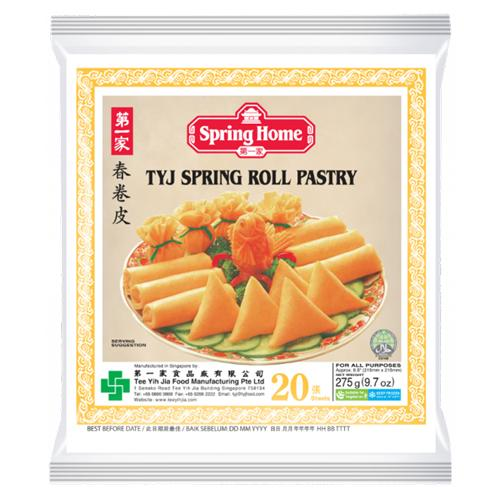Spring Home TYJ Spring Roll Pastry Pack of 20 Sheets