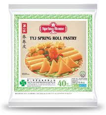 Spring Home TYJ Spring Roll Pastry Pack of 40 Sheets