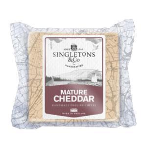 Singletons Mature Cheddar 200g
