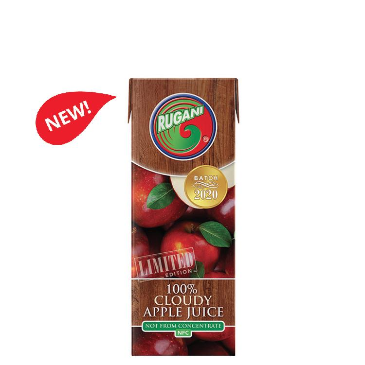 Rugani 100% Cloudy Apple Juice 330ml Buy One Get One Free