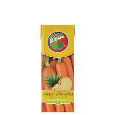 Rugani Carrot & Pineapple Juice Blend 330ml Buy One Get One Free