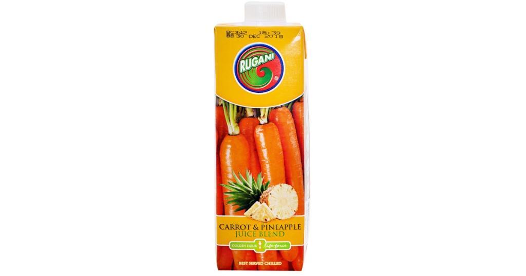 Rugani Carrot & Pineapple Juice Blend 750ml