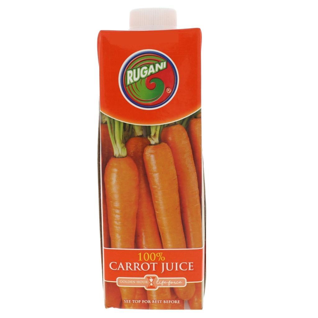 Rugani 100% Carrot Juice 750ml