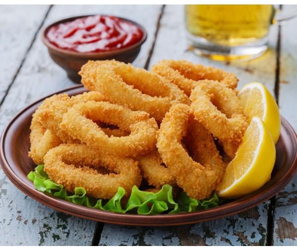 Breaded Calamari Rings 300g