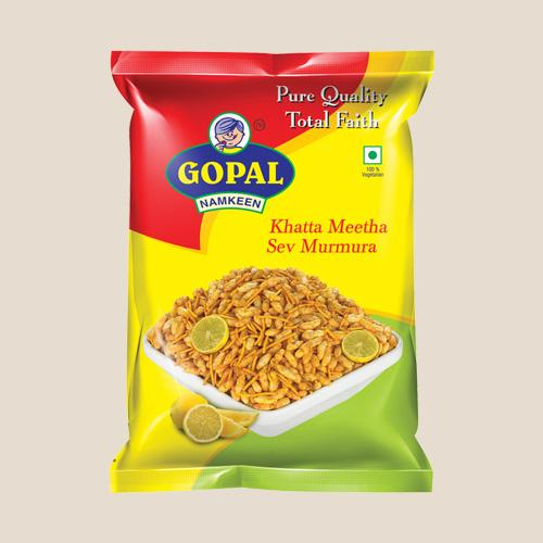 Gopal Namkeen Khatta Meetha Sev Murmura 250g Buy One Get One Free