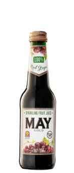 May Sparkling Red Grape Juice 250Ml