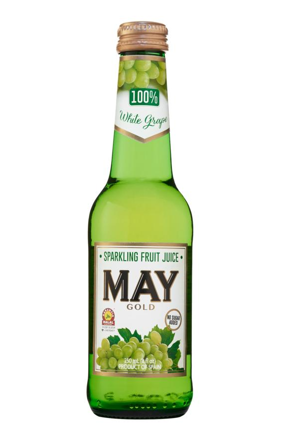 May Sparkling white  Grape Juice 250Ml