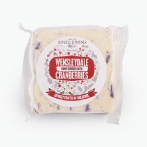 Singletons Cranberry Cheese 200g