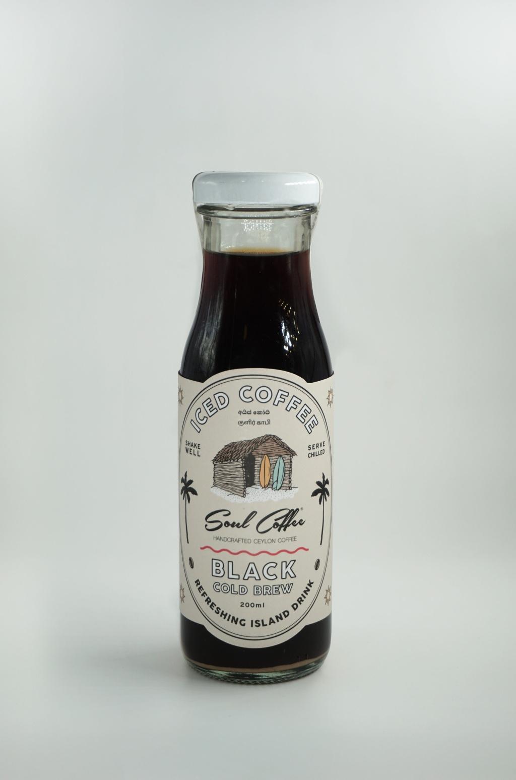 Soul Coffee Black Iced Coffee 200ml