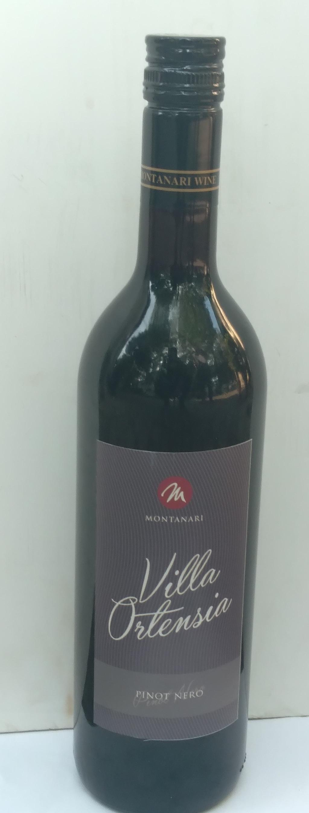 Villa Orlana red Pinot nero Wine 750ml