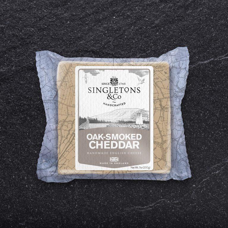 Singleton's Oak  Smoked Cheddar 200g