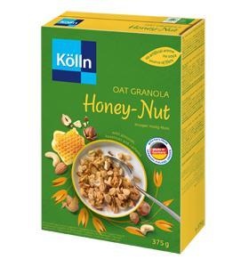 Kölln oat granola honey nut 375g