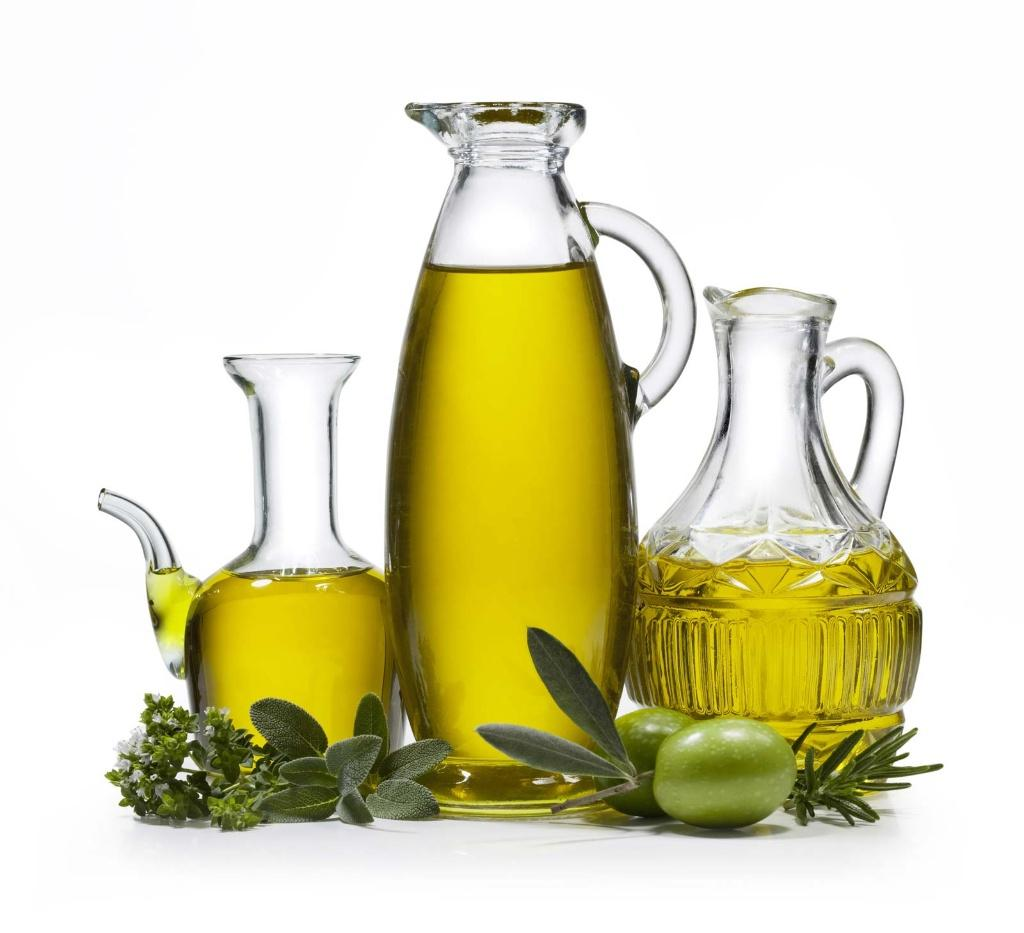 Extra Virgin and Regular Olive oil