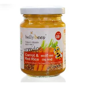 Belly Bees porridge Carrot & red rice 150g