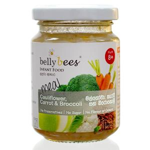 Belly Bees Meal Cauliflower Carrot & Broccoli
